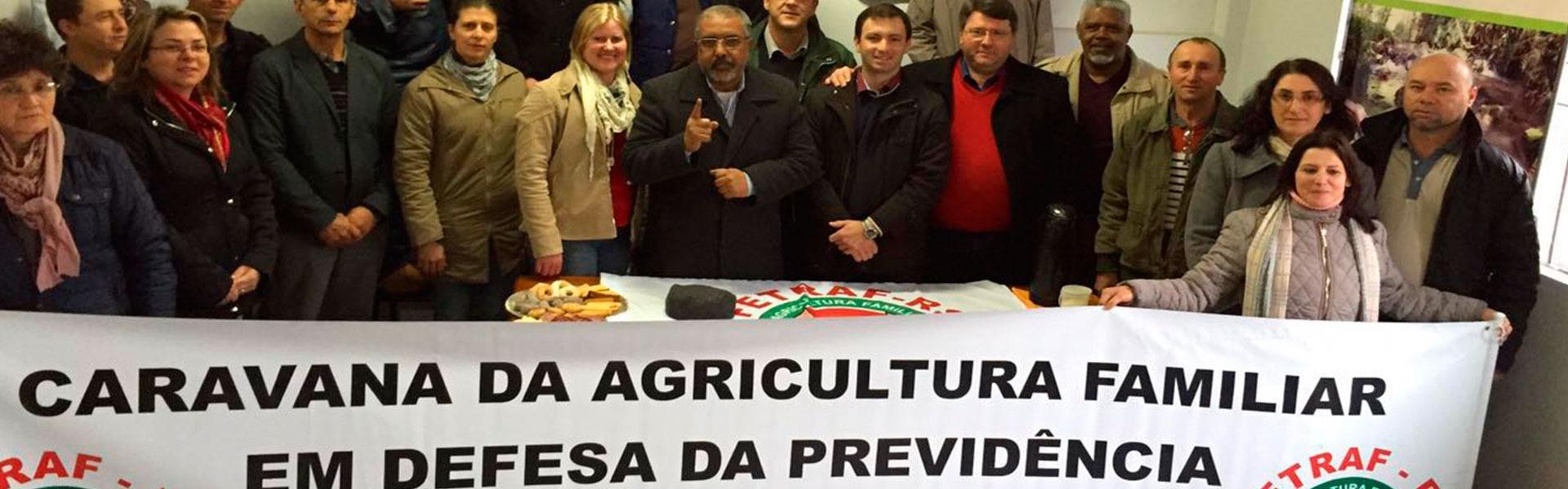 Caravana da Agricultura Familiar em defesa da Previdência!